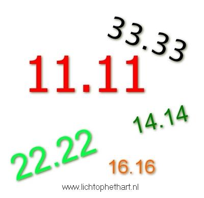 Dubbele getallen zien